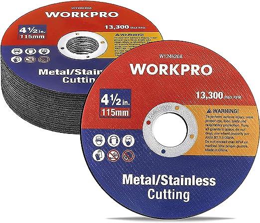 "Hautmec Metal Cut Off Wheels 4-1//2/"" X .04/"" X 7//8/"" Thin Grinding Disc With Alumi"