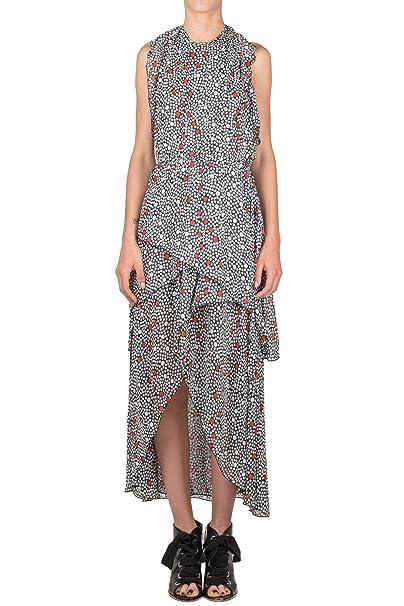 177982a590 Space Style Concept - Abito donna Bianco/Nero P18SMAB012 02 AB: Amazon.it:  Abbigliamento