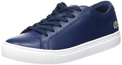 Lacoste L.12.12 117 1, Baskets Basses Femme  Amazon.fr  Chaussures ... 8fcb83627df9