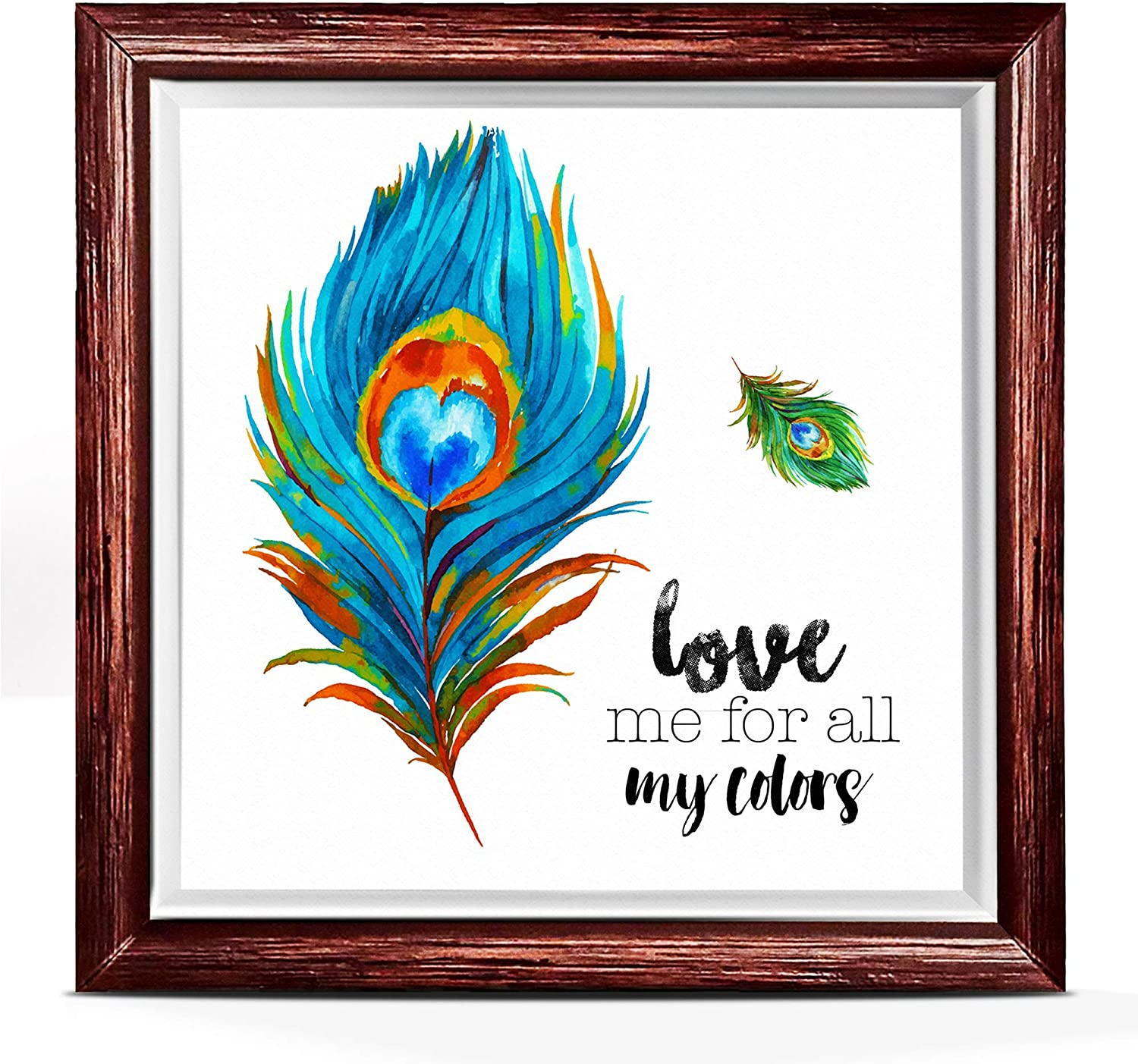 Gay Pride Gifts | Unique Ceramic for LGBTQ Community | Great for Home Decoration | A Wall Decor Ceramic with Inspirational Quote | Ideal for Any Room Decoration