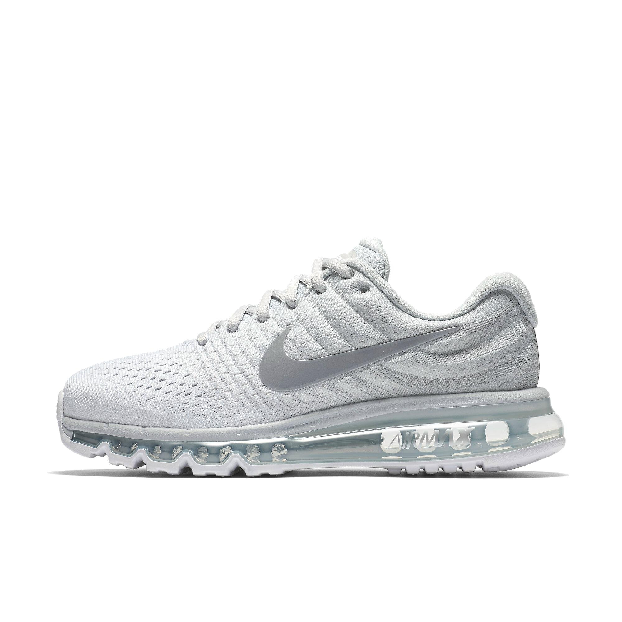 Nike Air Max 2017 84950-009 Pure Platinum/Wolf Grey-White Women's US 8 by Nike