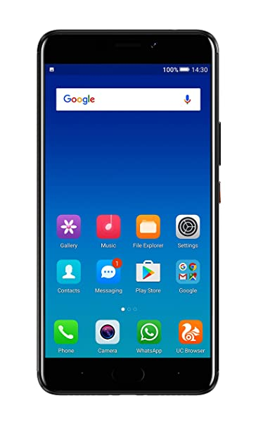 Gionee A1 Plus W1617 (Black, 64GB) Smartphones at amazon