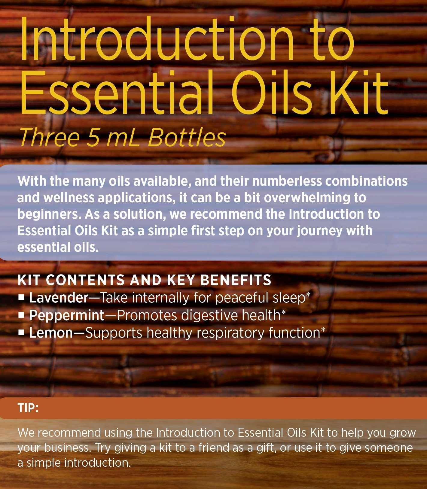 doTERRA - Introductory Kit by DoTerra