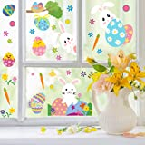 CCINEE 500pc Easter Window Cling Stickers for