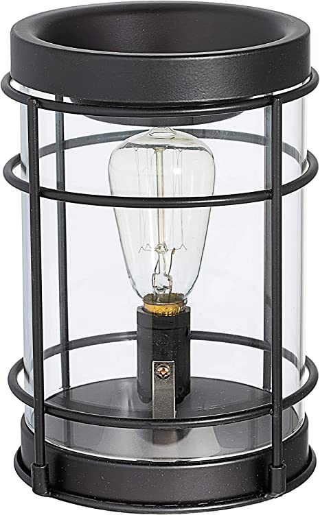 Vintage Bulb Electric Candle Warmer With Timer Plug In Fragrance Warmer For Scented Wax Melts Cubes Tarts Air Freshener Set For Rustic Home Décor Office Gifts Home Kitchen