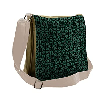 Art Deco Messenger Bag