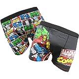 Wunder-Iron Man, Thor, Hulk Mens Boxer Shorts Zwei Pack