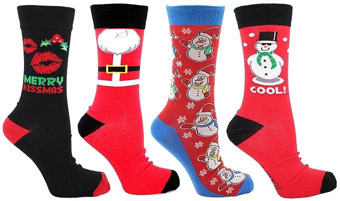 Calcetines de Navidad para hombre. Tallas: RU: 6–
