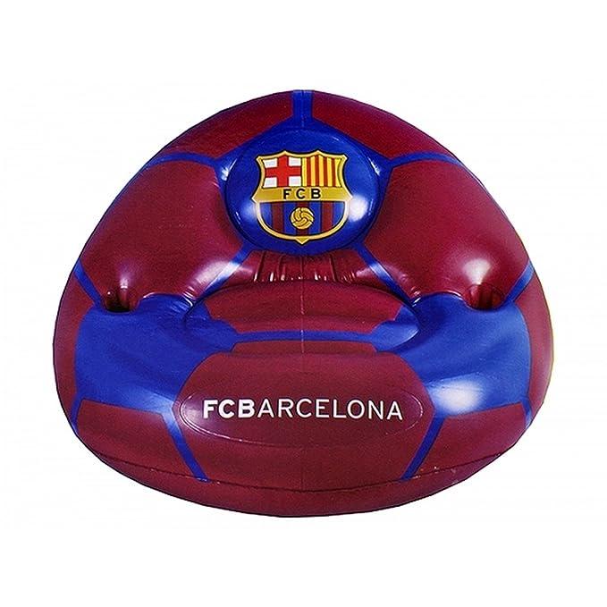 FCB FC Barcelona Oficial - Sofá hinchable (Talla Única ...