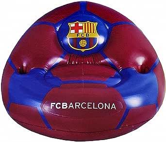 FCB FC Barcelona Oficial - Sofá hinchable (Talla Única/Budeos/Azul): Amazon.es: Ropa y accesorios