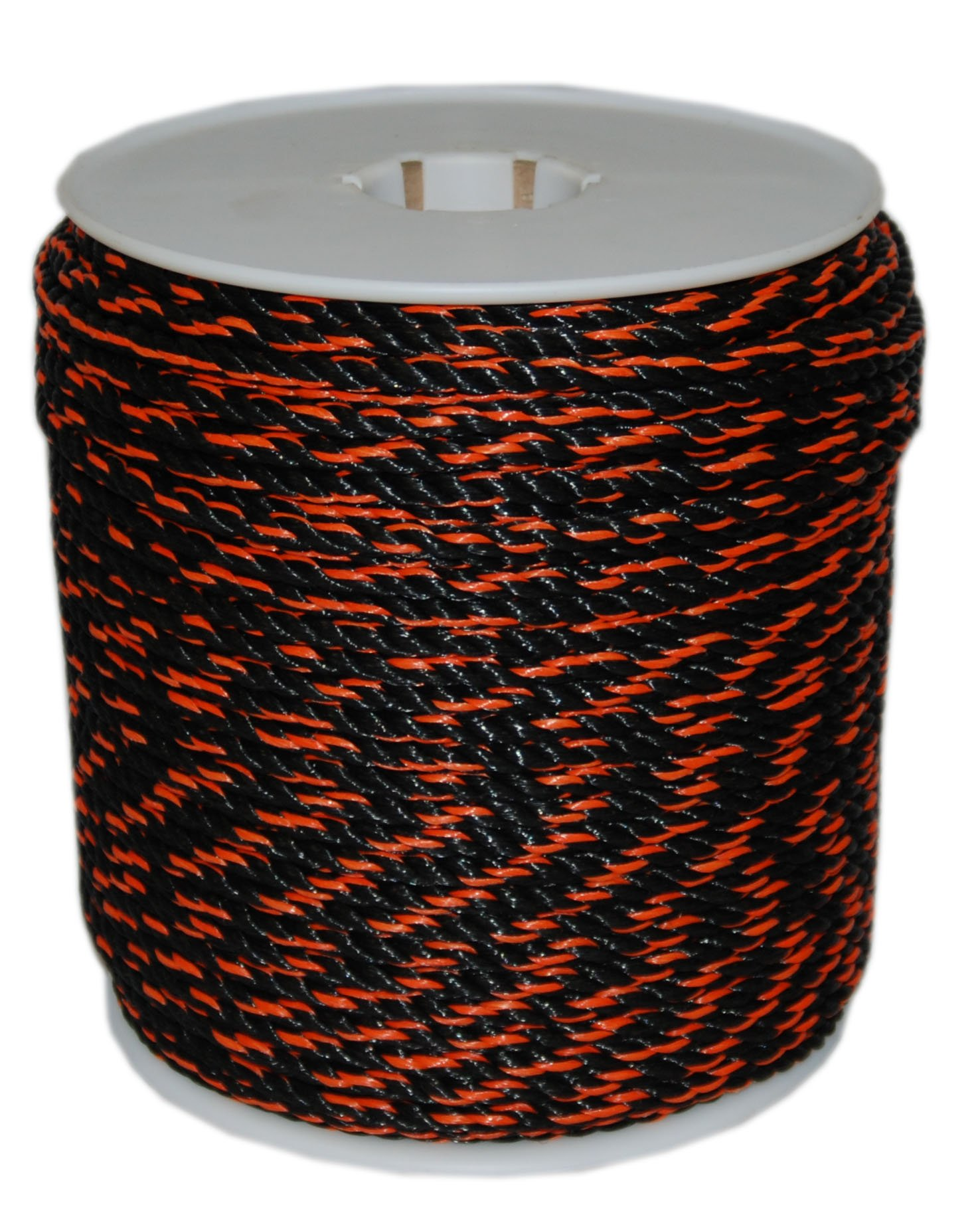 T.W . Evans Cordage  80-030OB 1/2-Inch by 600-Feet California Truck Rope, Black and Orange