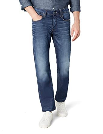 0a2abb4d3c0935 G-STAR RAW Men's 3301 Straight Fit Jeans: G-Star: Amazon.co.uk: Clothing
