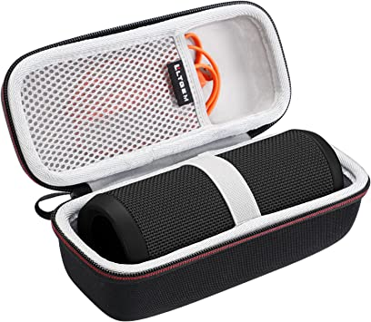 Amazon Com Ltgem Hard Carrying Case For Jbl Flip 4 3 Portable Bluetooth Speaker With Mesh Pocket Fits Usb Cable And Accessories For Travel Storage And More Electronics