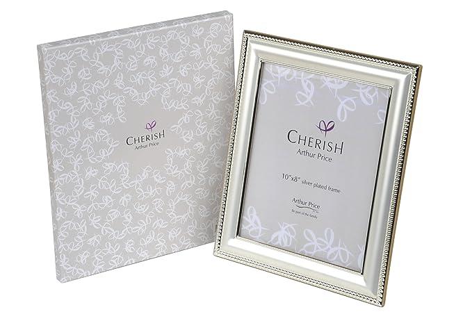 b6a5918e243c Cherish Oxford 3.5 x 5-inch Silver Plated Frame  Amazon.co.uk  Kitchen    Home