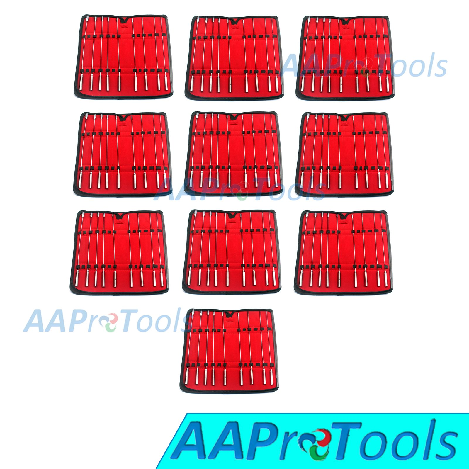 AAPROTOOLS 10 KITS BAKES ROSEBUD SOUNDS DILATOR SET OF 9 PIECES STAINLESS STEEL A+ QUALITY by AAPROTOOLS