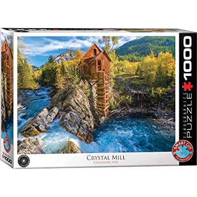 EuroGraphics 6000-5473 Crystal Mill 1000Piece Puzzle: Toys & Games