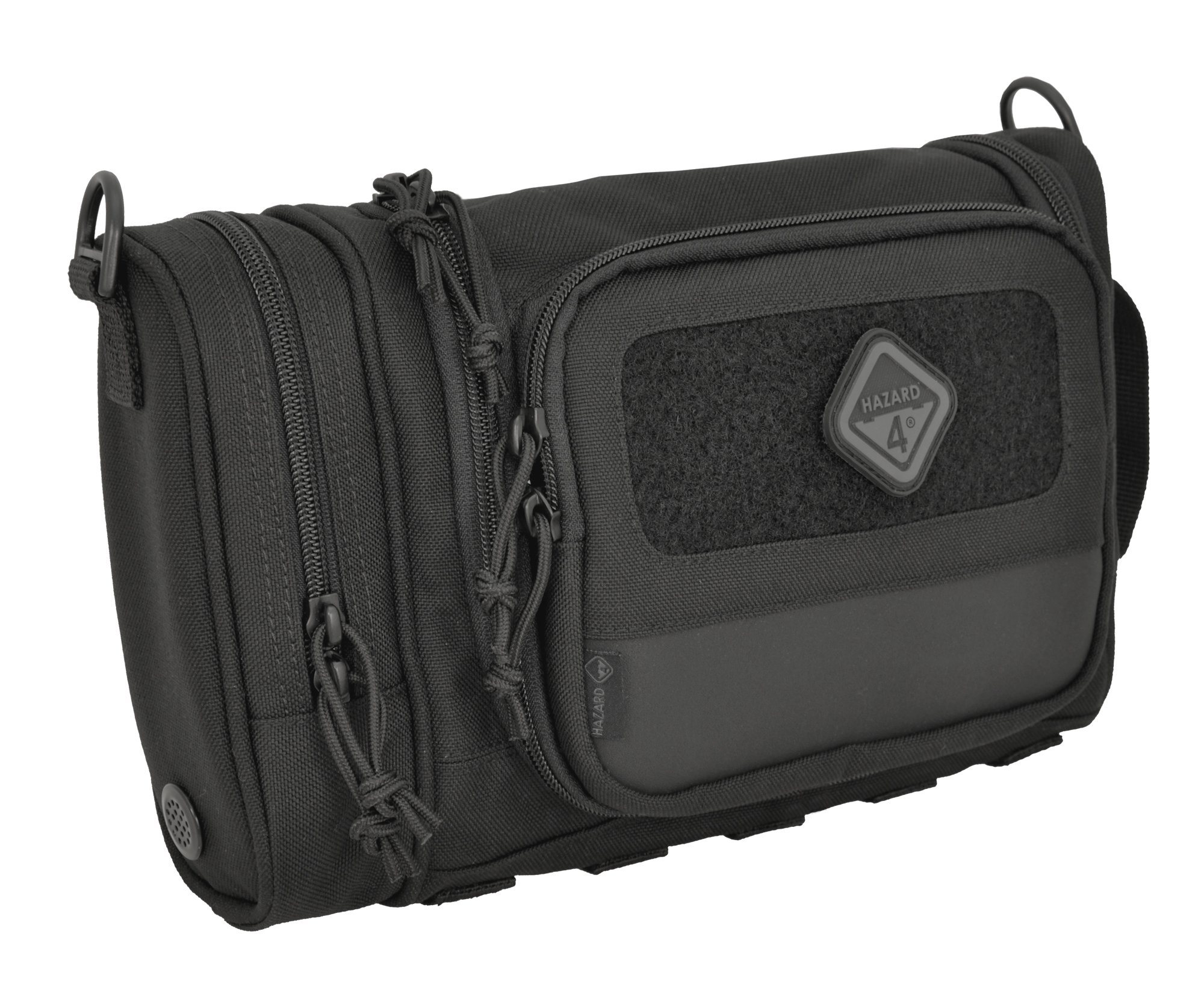 Hazard 4 (RVL-CRD-BLK) Reveille Rugged Grooming Kit/Heavy-Duty Toiletry Bag, Black by HAZARD 4