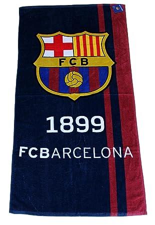 ae9517190acb45 PSG Serviette de Bain Drap de plage coton Fc barcelone Barça Messi Suarez