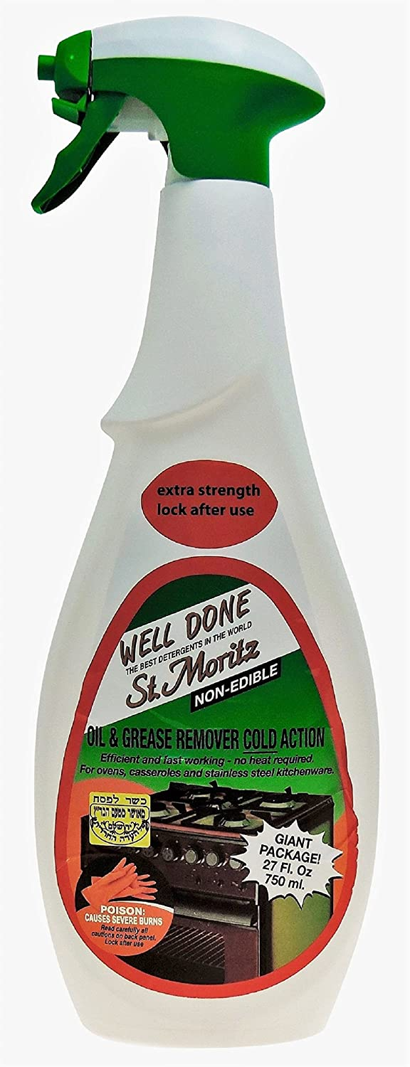 Well Done Oil and Grease Remover - Cold Action (750 mL) - 2 Pack