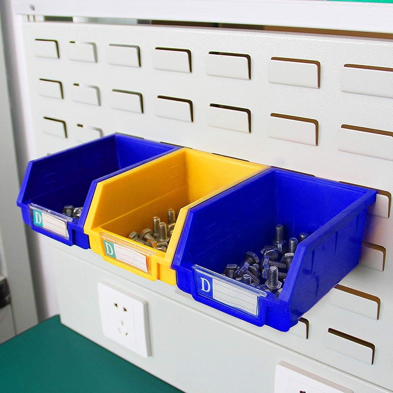 8Pcs Pegboard Parts Storage Box Accessories Workbench Bins for Hand Tools Organizing Hardware Supkiir Pegboard Bins Kit Attachments