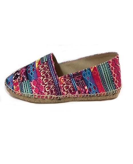 Alpargata Étnica Hechas a Mano, Fabricadas en España: Amazon.es: Zapatos y complementos