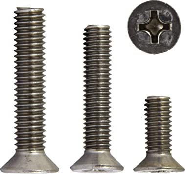 |/ 20/unidades senkkopfsc Tornillos alomados conH DIN 965/Acero Inoxidable A2/ /Tornillo avellanado opiol Quality Tornillos de cabeza Phillips
