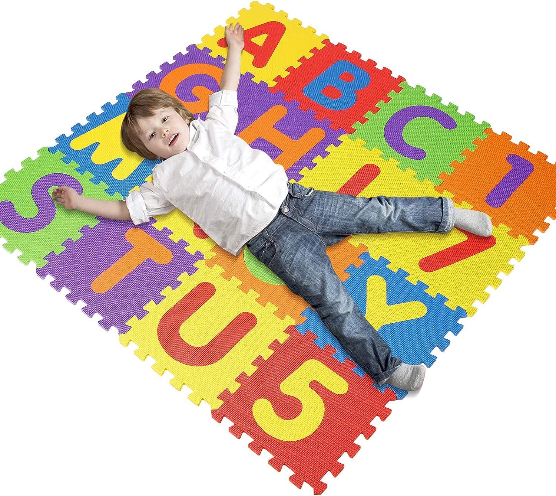 Alfombra Infantil Puzzle para Niños 36 Mat Espuma Letras Y ...