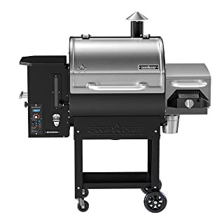 Camp Chef Woodwind SG Wood Pellet Smoker and Over-Fire Grill with Sear Box (PG24SGWWS1) - Equipped with Slide and Grill Technology
