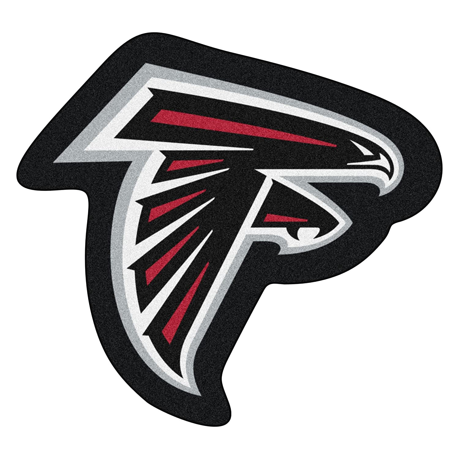 Fanmats 20961 NFL - Atlanta Falcons Mascot Mat, Team Color, 3' x 4' 3' x 4'