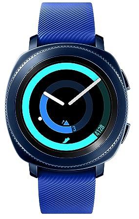 Samsung Gear Sport SM-R600 Smartwatch Reloj Inteligente para Android e iOS, Azul [Versión Internacional]