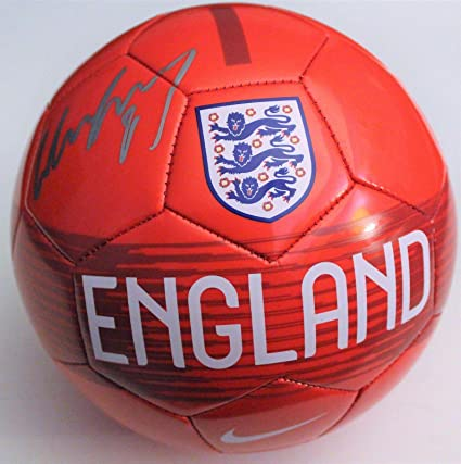 65f943430 Wayne Rooney Signed England Size 5 Soccer Ball w/COA Manchester United  Proof #1 - Autographed Soccer Balls at Amazon's Sports Collectibles Store