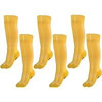 Rainbow Socks - Niño Niña Calcetines Largos Deportivos Fútbol