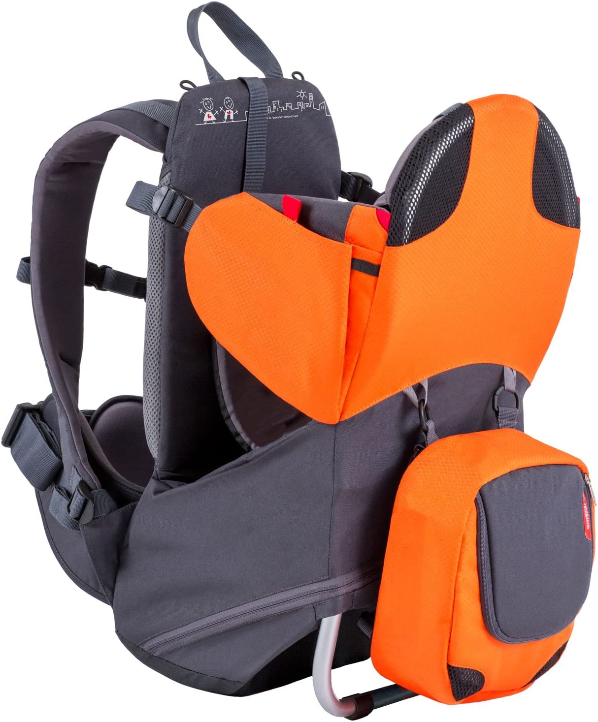 Blue phil/&teds Parade Baby Carrier