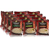 12-Pack Thai Kitchen Instant Rice Noodle Soup Variety Pack (1.6oz)