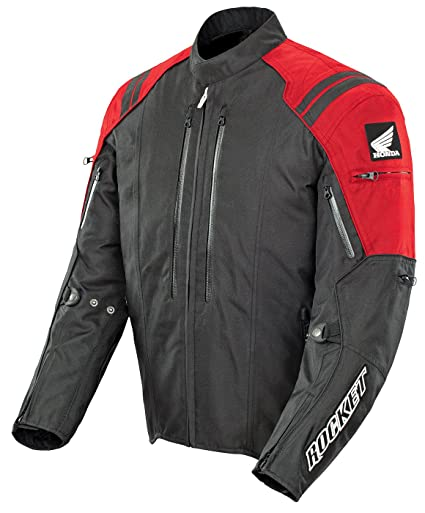 Joe Rocket CBR Mens Red/Black Textile Motorcycle Jacket - X-Large