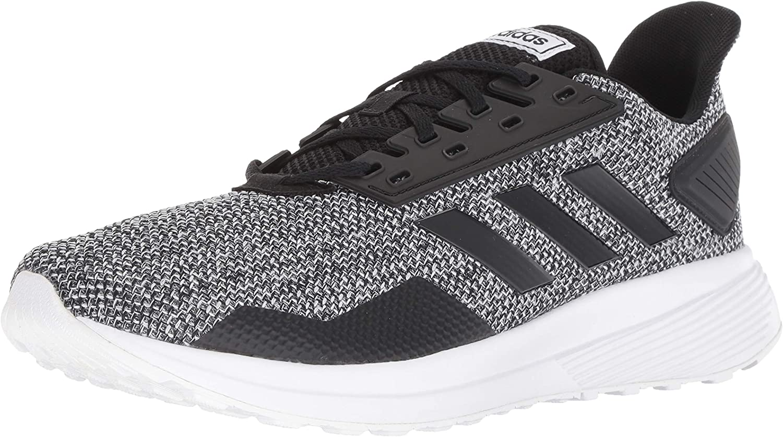 Zapatillas de running Adidas Duramo 9, para hombre, Negro (Núcleo negro/Core negro/blanco calzado), 44.5 EU