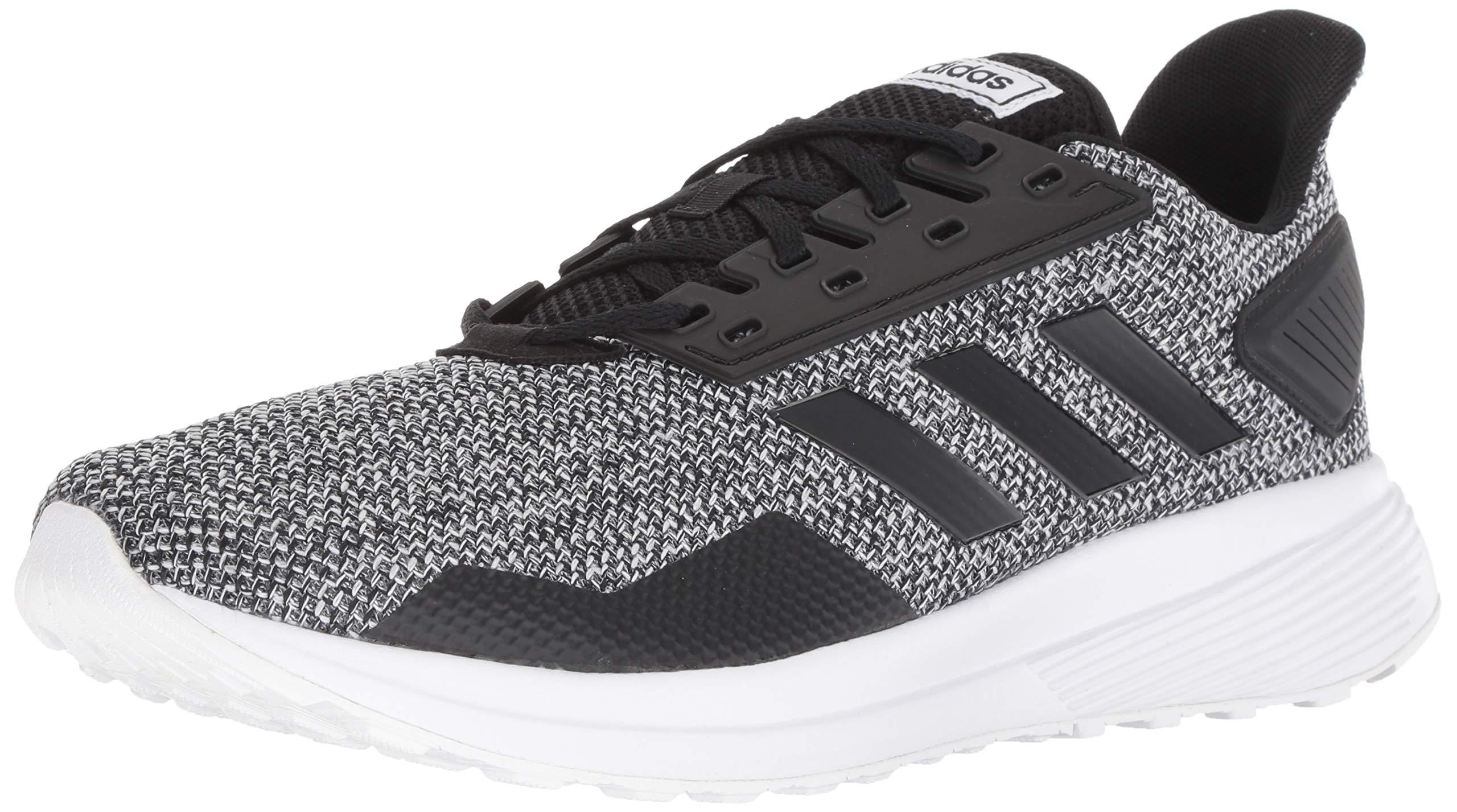 adidas Men's Duramo 9 Running Shoe Core Black/Footwear White, 7 M US