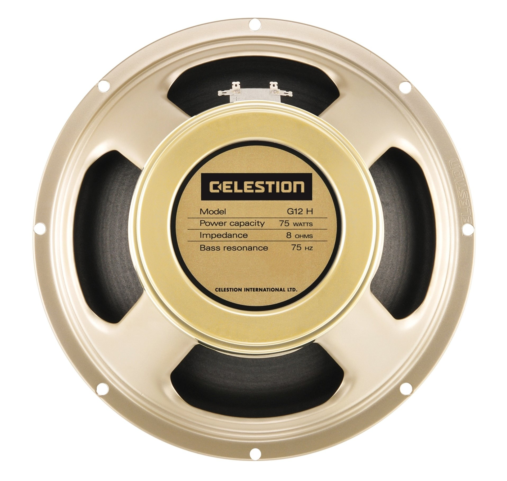 CELESTION G12H-75 Creamback 8-Ohm 12-Inch 75-Watt Guitar Speaker by CELESTION