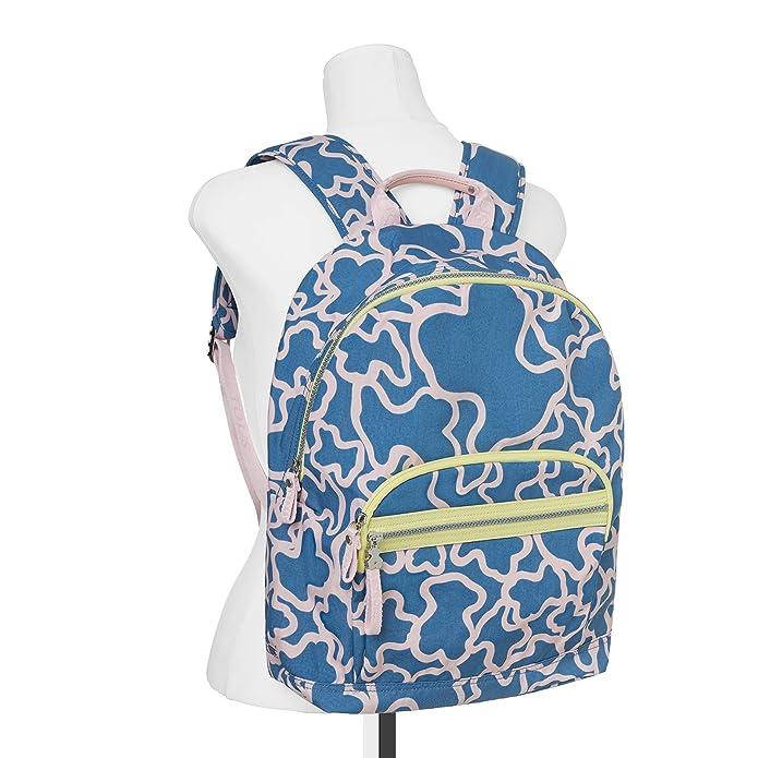 Tous Kaos Colores, Mochila para Mujer, Azul (JEANS Rosa) 14x33x22 cm (W x H x L): Amazon.es: Zapatos y complementos