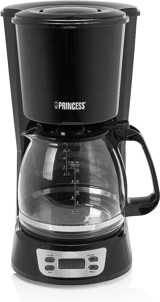 Princess 246007 Cafetera Classic Negra Deluxe, 1000 W, 1.5 litros ...