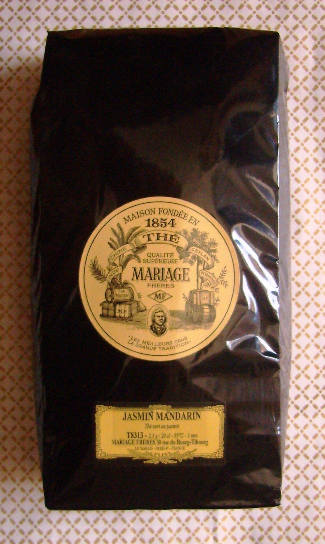 Mariage Freres - JASMIN MANDARIN (T8313) - 17.63oz / 500gr Loose Leaf BULK BAG