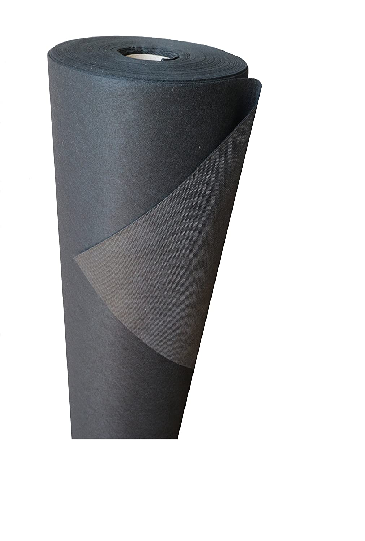 '200G/M²–Telo pacciamante o le erbe infestanti in tessuto non tessuto Premium Plus ((L) 25m X (B) 1,0m X (H) 1,5mm)