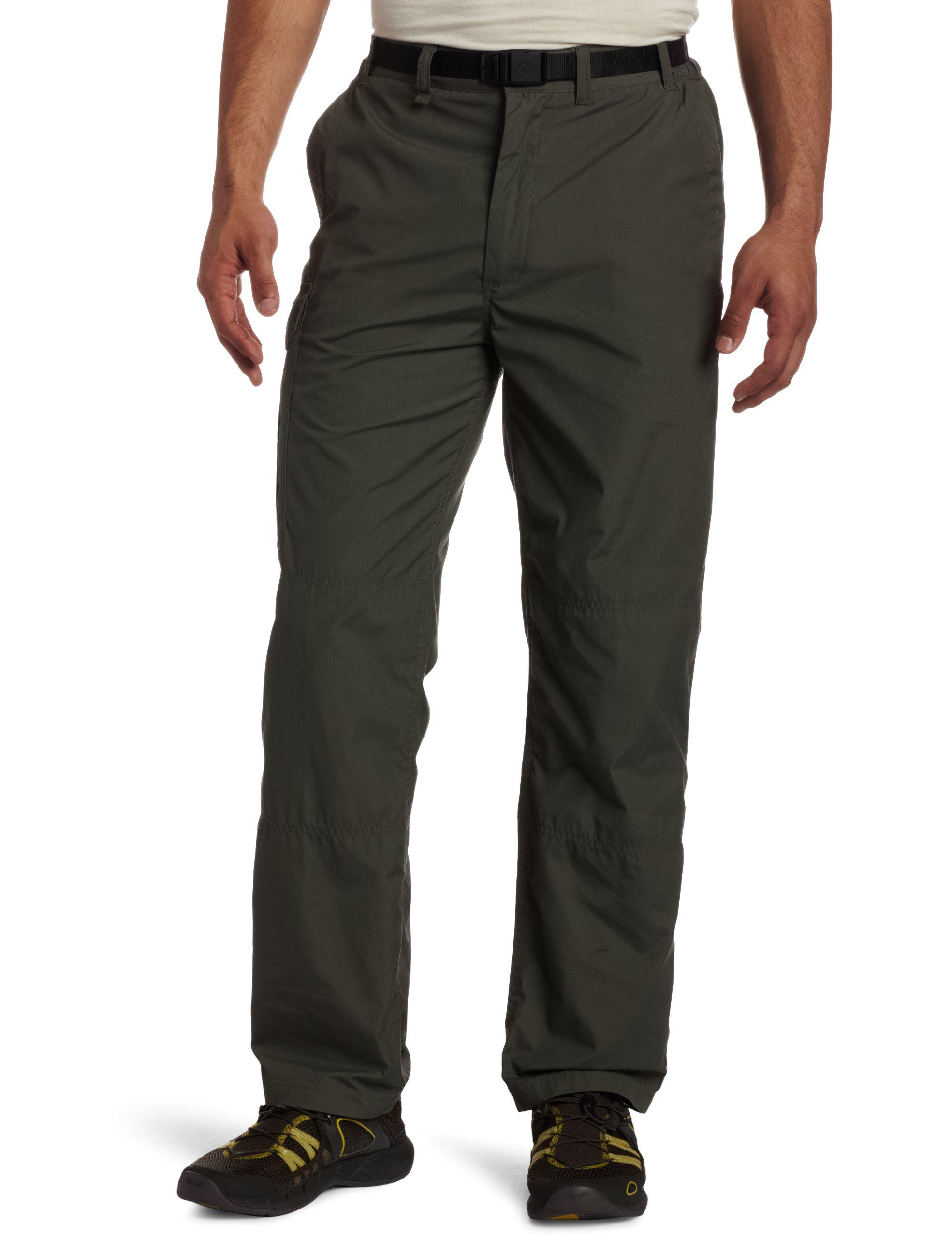 Craghoppers Men's Classic Kiwi Trousers (Regular), 32-Inch, Cedar by Craghoppers