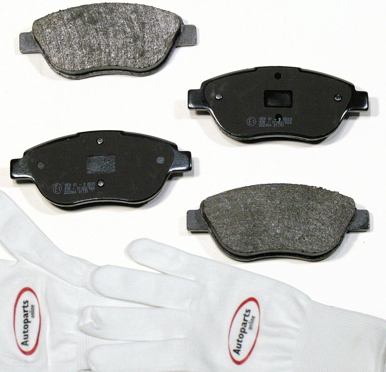 Autoparts-Online Set 60008768 Bremsbel/äge//Bremskl/ötze//Bremsen vorne