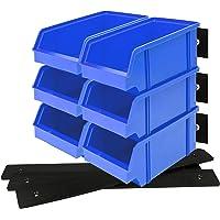 Lantelme 9 piezas Caja organizadora Abierta con soporte