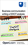 Business communication: writing a SWOT analysis (English Edition)