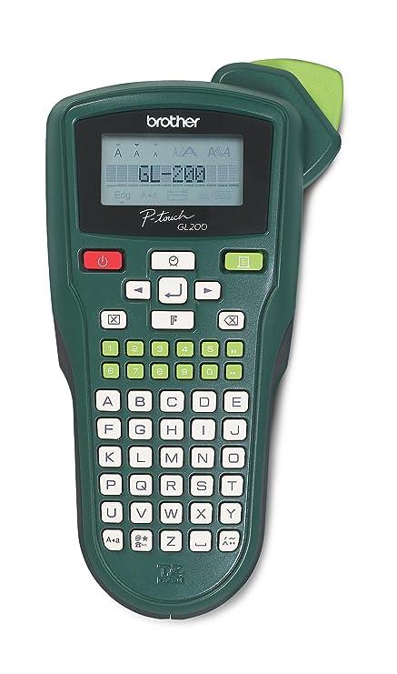 Brother GL200VP - Impresora de etiquetas (1,2 cm, Negro, LCD ...