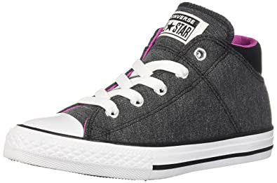 43d7aa94df1a Converse Girls Kids  Chuck Taylor All Star Madison Mid Top Sneaker