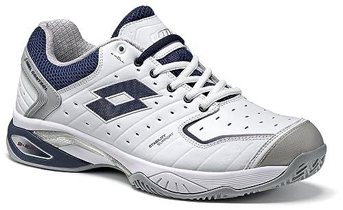 Lotto Raptor Lth Cly, Zapatillas de Tenis Hombre: Amazon.es: Zapatos y complementos
