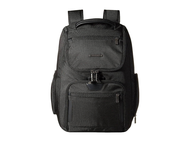 [ブリッグス アンド ライリー] Briggs & Riley レディース @Work - Large U-Zip Backpack バックパック [並行輸入品] B01NBB8M15 ブラック